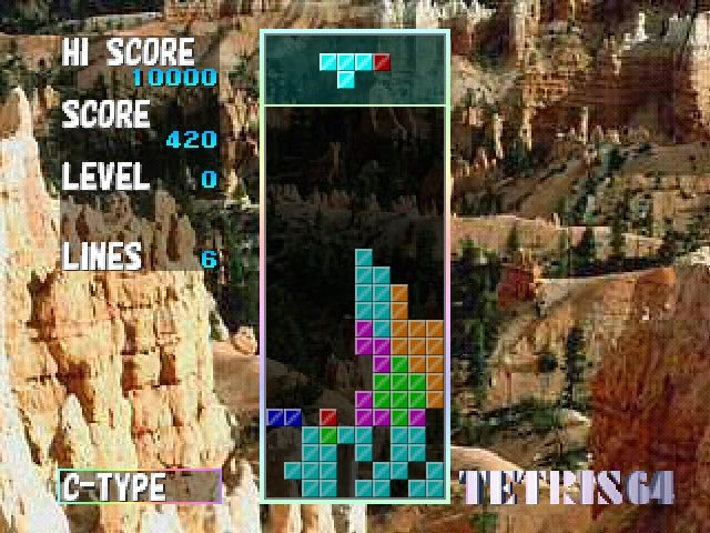 The New Tetris in-game