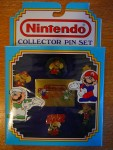 Nintendo Collector Pin Set