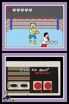 Wario Ware Touched! in-game
