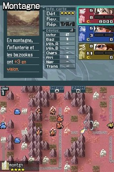 Advance Wars Darck Conflit in-game