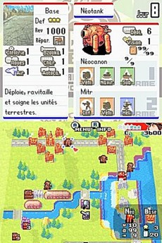 Advance Wars Dual Strike in-game