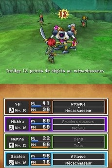 Dragon Quest IX : Les Sentinelles du Firmament in-game