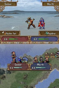 Fire Emblem : Shadow Dragon in-game