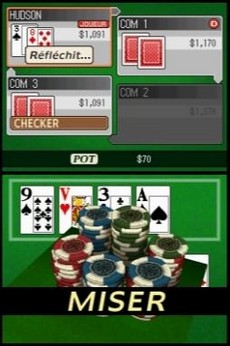 High Stakes Texas Hold'em in-game