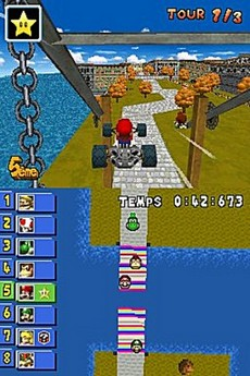 Mario Kart DS in-game