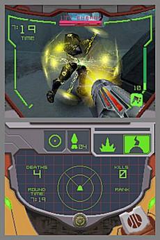 Metroid Prime Hunters in-game