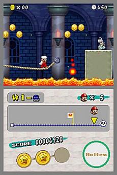 New Super Mario Bros. in-game