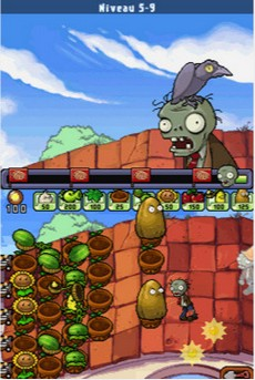 Plantes Contre Zombies in-game