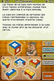 Professeur Layton et L'Appel Du Spectre in-game