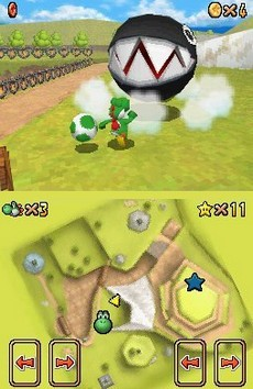 Super Mario 64 DS in-game
