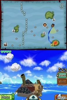 The Legend Of Zelda : Phantom Hourglass in-game