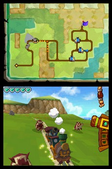 The Legend Of Zelda : Spirit Tracks in-game