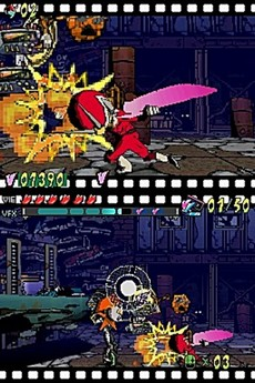 Viewtiful Joe : Double Trouble ! in-game