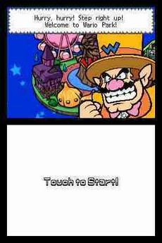 Wario Ware Snapped! in-game