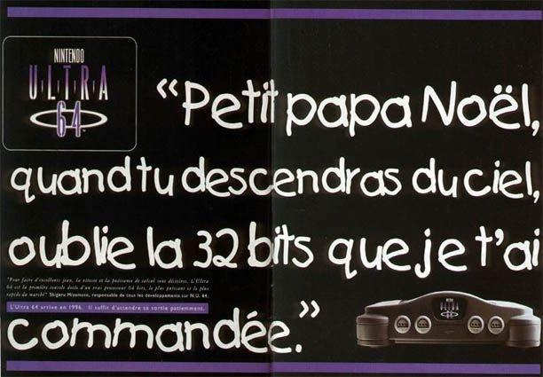 Publicités 32 bits - Nintendo 64