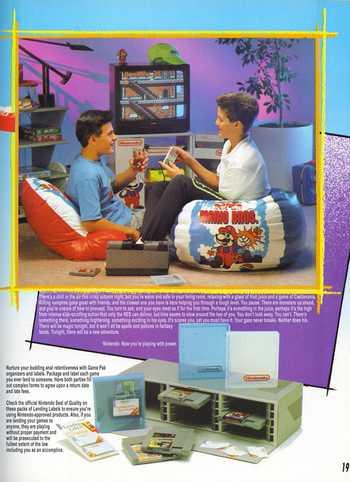 Affiche Nintendo