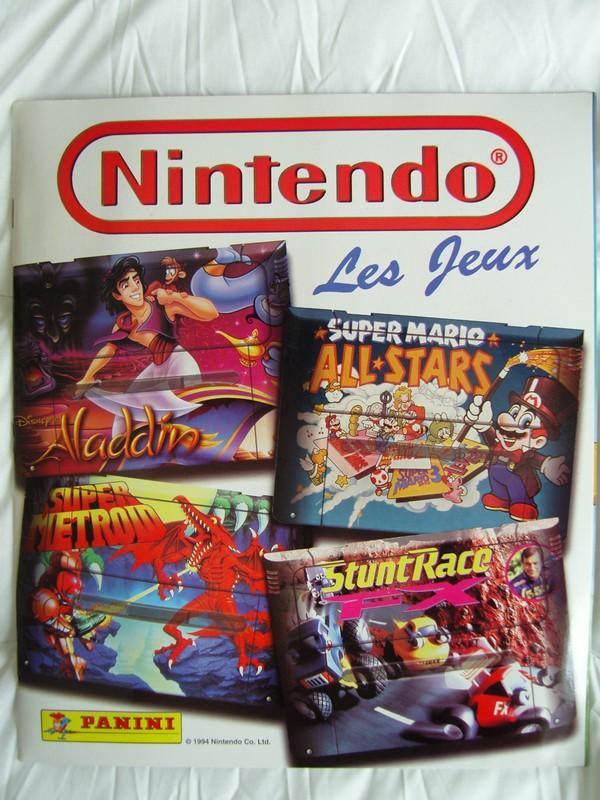 Sega Super Play Panini-Nintendo