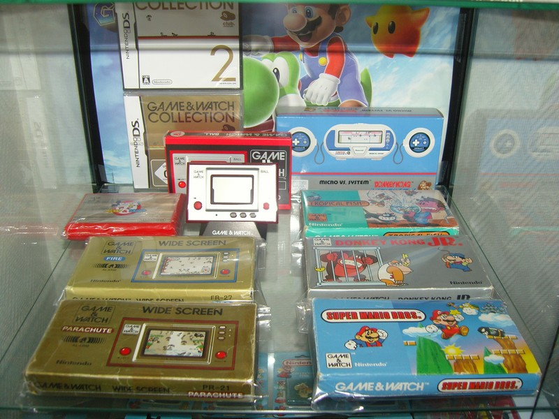 Étagère collection Game & Watch