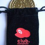 Pièce commémorative 25 ans de Mario – Club Nintendo France (2010)
