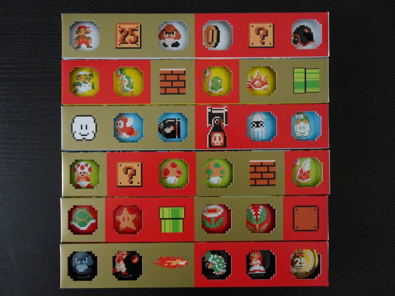 Mario 25th Anniversary Badge Set Club Nintendo Japon 2010