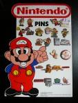 Collection de pin's Nintendo