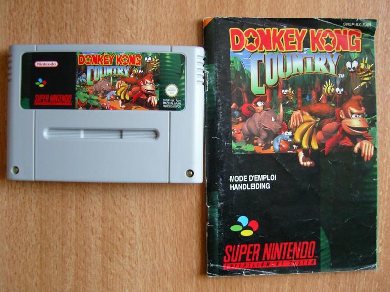 Boîte Donkey Kong Country