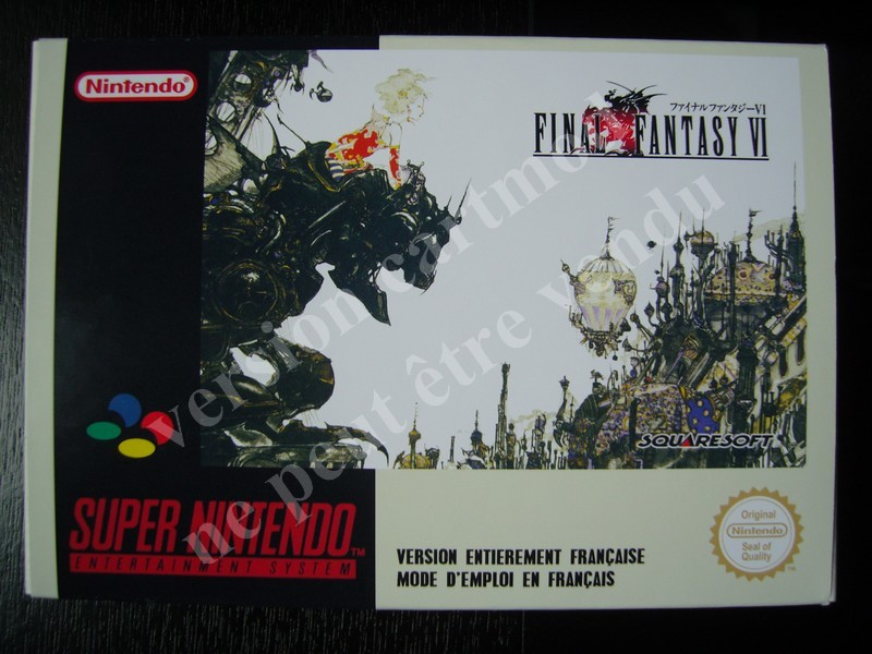 Final Fantasy VI (cartmod FR)