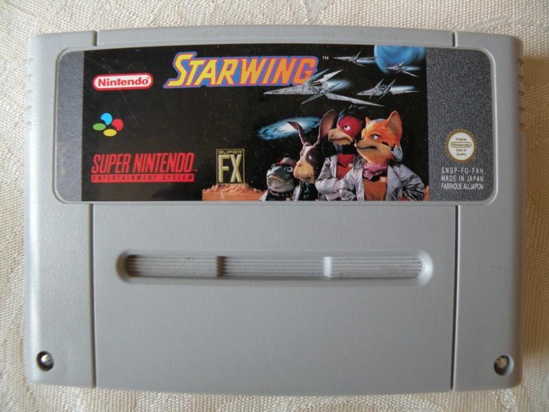 Cette cartouche fait partie du pack Super Nintendo / Starwing .