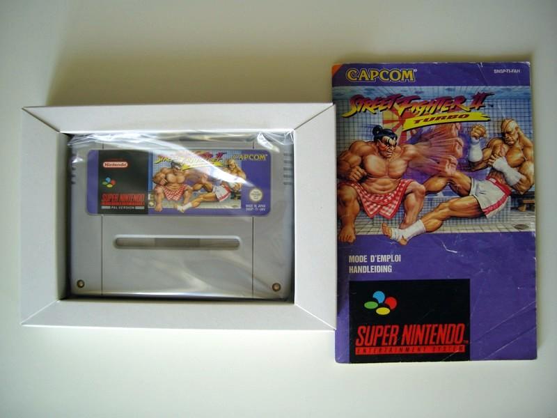 Boîte Street Fighter II Turbo