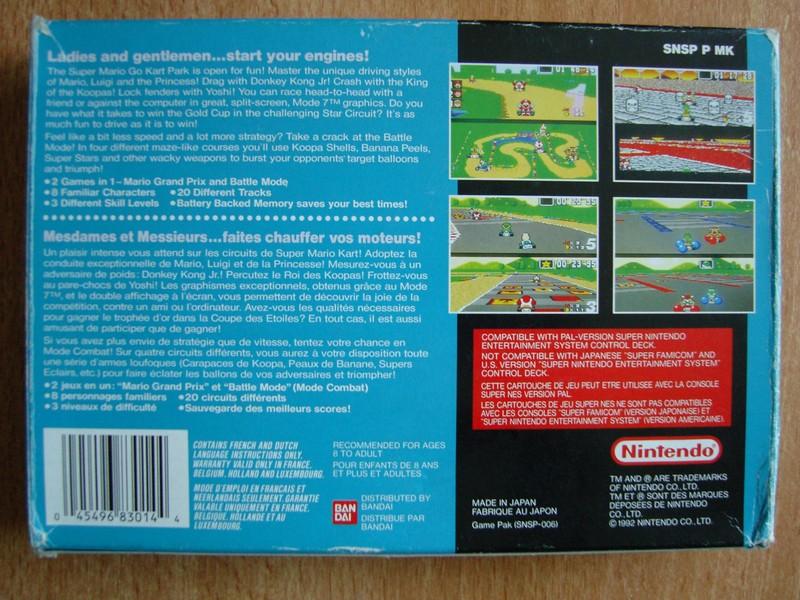 Boîte Super Mario Kart