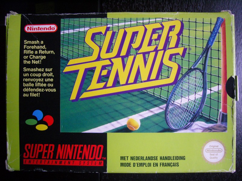150 SNES games reviewed  - Page 5 Super-Tennis