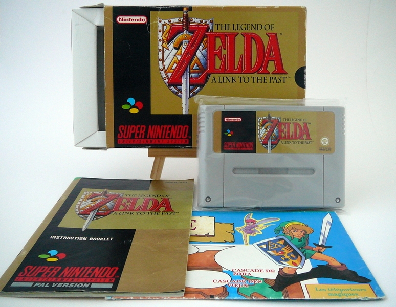 Boîte The Legend Of Zelda : A Link To The Past