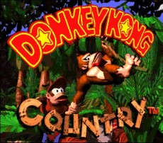 Donkey Kong Country in-game