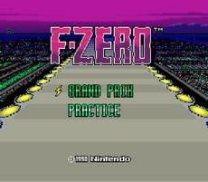 F-Zero in-game