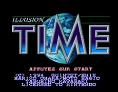 Illusion Of Time in-game