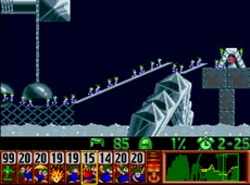 Lemmings in-game