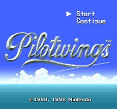 Pilotwings in-game