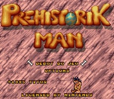 Prehistorik Man in-game