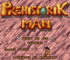 Prehistorik Man in-game