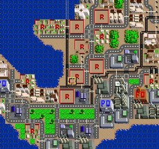 Sim City in-game