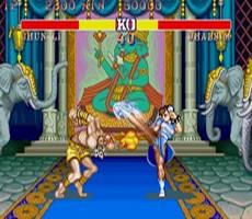 Street Fighter II Turbo in-game