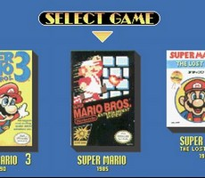 Super Mario All-Stars in-game