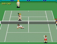 Super Tennis in-game