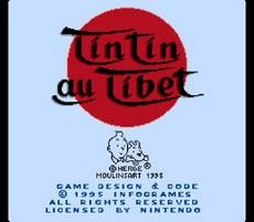 Tintin Au Tibet in-game