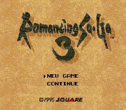 ロマンシング サ・ガ3 - Romancing SaGa 3 in-game