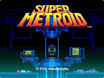 スーパーメトロイド - Super Metroid in-game
