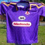 T-shirt Fiorentina 1997-1998 sponsor Nintendo