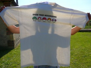 T-shirt-Know-Your-Mushrooms