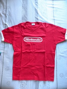 T-shirt-Nintendo