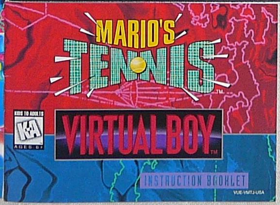 Mario's Tennis US